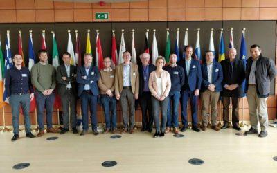 Mode Unie bezoekt Europees Economisch Sociaal Comité