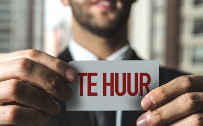 """Vlaamse regering realiseert door Mode Unie en UNIZO bepleite ondersteuningskader voor handelshuur: """"De nood aan deze ondersteuning is hoog!"""""""