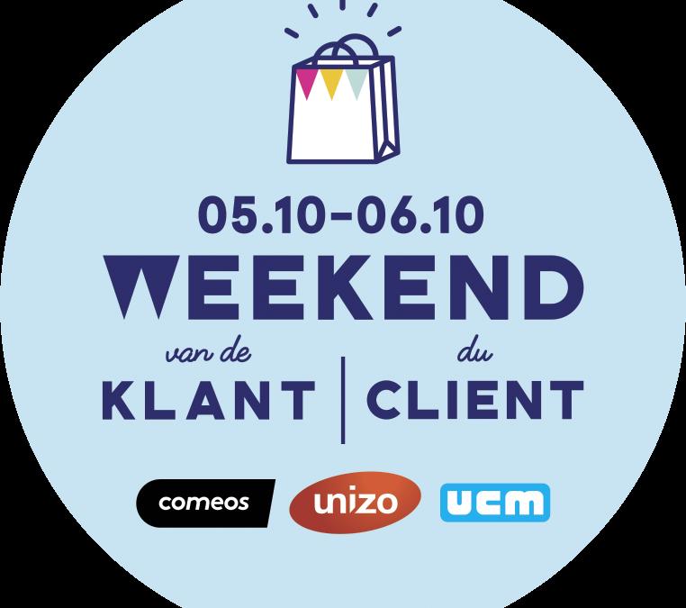 Doe mee aan Weekend van de Klant en ontvang gratis promotiemateriaal!